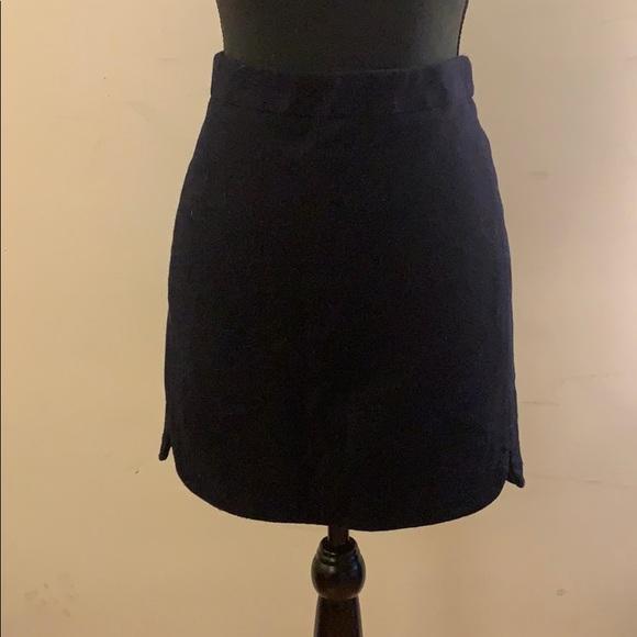 J. Crew Dresses & Skirts - J. Crew Navy Wool Mini Skirt
